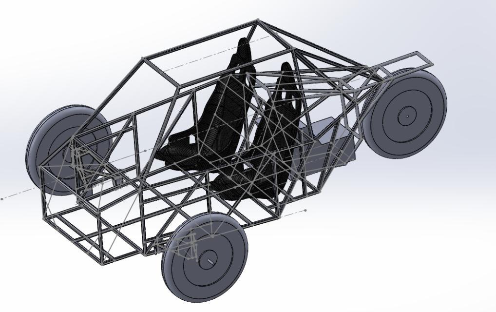 Projekt 2 Reverse Trike Buggy